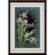 1231 Мозаика Cristal 'Ирисы', 40*59 см