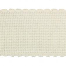Канва 'лента', 1,5м*5см, 100% хлопок Bestex (неотбел/неотбел)