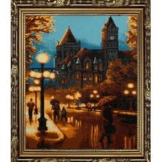 7136 Мозаика Cristal 'Ночной город', 50*68 см