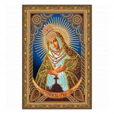 IK007 Картина со стразами Колор Кит 'Остробрамская Пресвятая Богородица' 20*30см