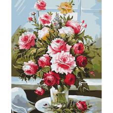 B021 Букет из садовых роз