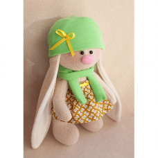 МЗ-03 Набор для изготовления текстильной игрушки Зайка Фасолька