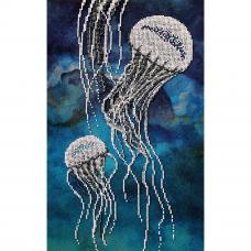 С-03 Набор для вышивания бисером Созвездие 'Медузы' 23*38см