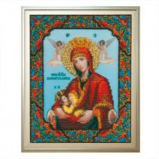Б-1044 Икона Божьей Матери Млекопитательница