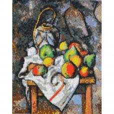 Р-102 Фрукты по мотивам картины Поля Сезанна