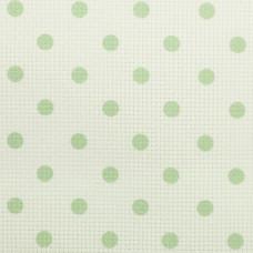 Дизайнерская канва Bestex 30*30 см (Зеленый горошек)