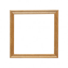 3N66 Рамка деревянная со стеклом 15*15/30, цв.орех