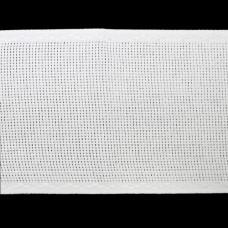 Канва 'лента', 1,5м*10см, 100% хлопок Bestex (белый/белый)