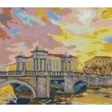 1319 Мозаика Cristal 'Мост', 42*55 см