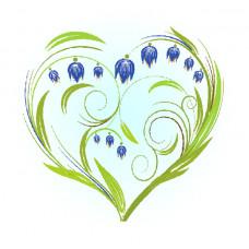7027 Колокольчики-сердце