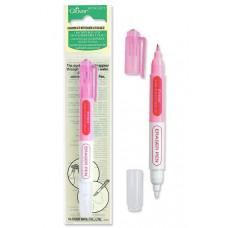 Ручка розовая водоисчезающая со стирателем Clover 5012
