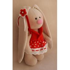 МЗ-06 Набор для изготовления текстильной игрушки Зайка Ягодка