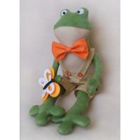 FR001 Набор для изготовления игрушки FROGS STORY Лягушонок