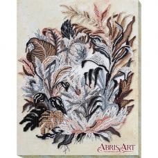 АВ-679 Набор для вышивания бисером 'Рисунок сепией' 27*34см