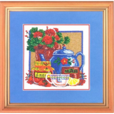НР-3015 Канва с рисунком для вышивания бисером 'Натюрморт' Hobby&Pro 25*25см