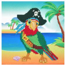 Б-0120 Набор для вышивания бисером Бисеринка 'Пират' 17*16,5см