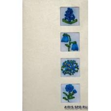 о-07 Набор для вышивания 'Голубая рапсодия'