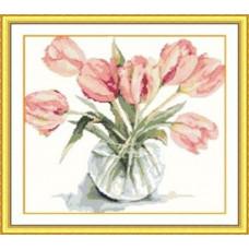 7432 Мозаика Cristal 'Букет тюльпанов', 45*43 см