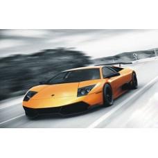 1005 Мозаика Cristal 'Жёлтая машина', 50*40 см