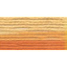Мулине Гамма меланж цвет Р-38 желтый-темно-оранжевый