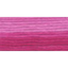 Мулине Гамма меланж цвет Р-28 ярко-малиновый-розовый