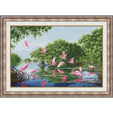ЛП-040 Розовые пеликаны