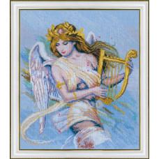271 Ангел с арфой
