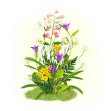 7026 Цветы полевые