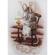 1224 Мышка вышивальщица