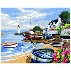 A063 Лодки на берегу
