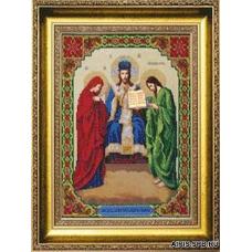 Б-1115 Икона Иисус Христос, Царь Славы