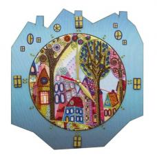 РТ6514 Наборы для креативного рукоделия 'Нова Слобода' 'Красочный город', 27x29 см