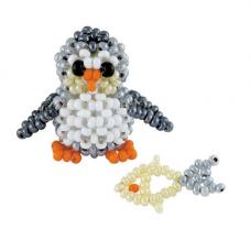 В187 Пингвиненок с рыбкой