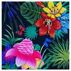 Т-06 Набор для вышивания бисером Созвездие 'Райский сад' 30*30см