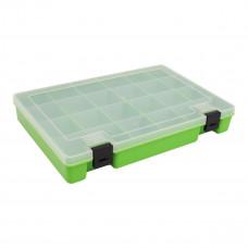ТИП-7 Коробка, 6 съёмных перегородок, 24 ячейки, 274*188*45 мм (салатовый)