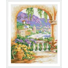 Мозаика на деревянной основе, GZ057