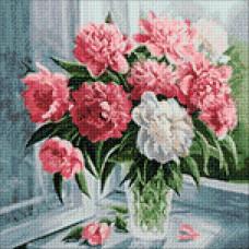 Ag 582 Набор д/изготовления картин со стразами 'Умиротворение' 38*38см Гранни
