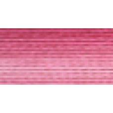 Мулине Гамма меланж цвет Р-01 малиновый-светло-розовый