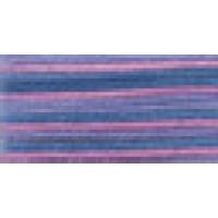 Мулине Гамма меланж цвет Р-43 сиреневый-розовый-синий