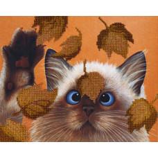 БГ-182 Котик в листьях