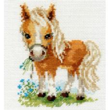 0-114 Белогривая лошадка
