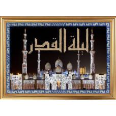 158РВМ Белая мечеть шейха Зайда в Абу-Даби