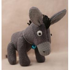 D001 Набор для изготовления текстильной игрушки Ослик