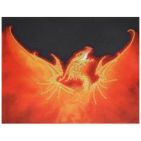 В1011 канва с рисунком Alisena (Огненный дракон)