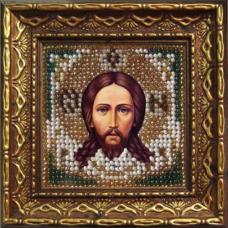 2008дПИ Набор для вышивания бисером 'Вышивальная мозаика' 'Спас Нерукотворный', 6,5*6,5 см