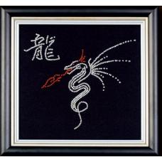Б-008 Набор для вышивания бисером 'Год дракона'