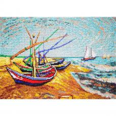 Р-105 Лодки в Сен-Мари по мотивам картины Винсента Ван Гога