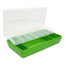 ТИП-5 Коробка, двухъярусная c микролифтом, 210*110*50 мм. (салатовый)