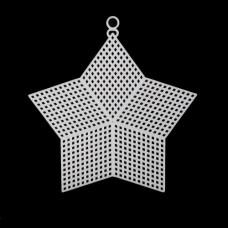 Канва пластиковая, больш. 'Звезда', 15*13 см, Bestex