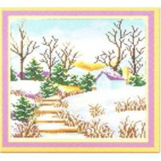 7496 Мозаика Cristal 'Зима', 35*35 см